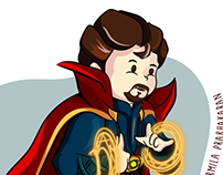 Doctor strange (Marvel Cinematic Universe MCU)