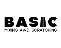 "Logo for ""BASIC"" DJ school"