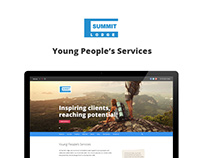 Summit Lodge: Website design