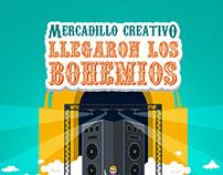 Imagen / Mercadillo Creativo - Llegaron los Bohemios