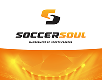 Management of Sports Careers Logo Agente Futebol