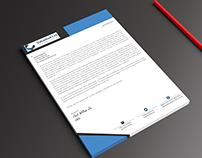 brand, corporate,business, a4, docx,design, letterhead
