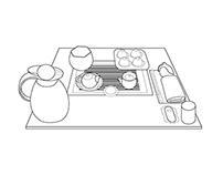 Иллюстрации, дизайн и верстка чайного меню
