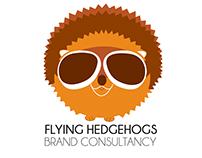 Flying Hedgehog - Logo Design