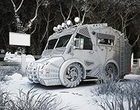 Anti-Poaching Rescue Vehicle