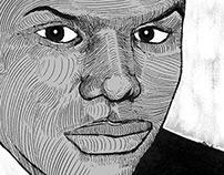 Portrait of Corey Mickins - Police Brutality Victim