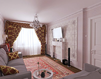 Визуализация квартиры в спальном районе Петербурга