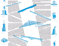 graphic design of an article