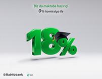 RabitaBank - School Campaign 18%