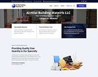 Al-Hilal Group of Companies - Website Design