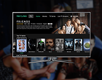 Video Streaming Application Concept for TV