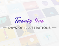 21 Days of Illustrations