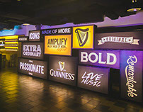 Guinness Amplify Lightbox Stacks