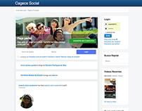 Cagece Social Network