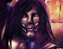 Mileena MKX - Fan Art