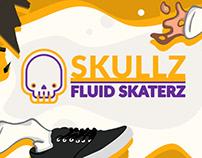 Skullz SkaterZ - Fluid illustration