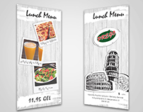 PREGO _ Lunch Menu