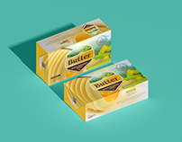 Free Brand Butter Block Packaging Mockup