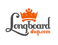 Logotype and corporate ID for longboard shop