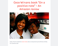 "Cece Winans book ""On a positive note"" - Amazon review"