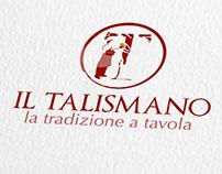 Il Talismano - Identity & Menu design