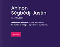 Justin Sègbédji Ahinon - Toucher les étoiles
