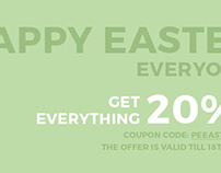 Happy Easter! Grab WordPress themes 20% OFF