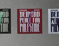 Demand Freedom For Palestine Poster