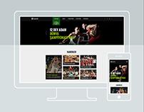 Garanti Basketbol Responsive UI Design