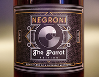 Negroni The Parrot edition - Shanghai