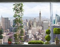 Манхеттен, высота 300 см