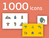 1000 Ultimate line icons