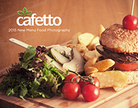 Food Photography / Cafetto Menu 2015