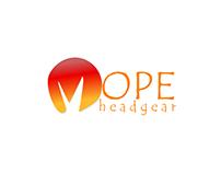 Mope Headgear | Logo Design | Minimalistic design |