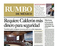 Diseño Editorial. Periódico. 2010.