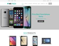 WS Tech Store WooCommerce WordPress Theme