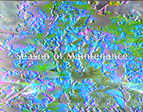 Video Art & Music: Season of Maintenance
