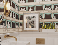 Theatrical bathroom