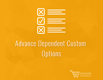 Advance Dependent Custom Option Magento Extension