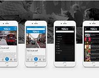T24 News Mobile App