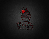 Cakes Shop Logo Design.