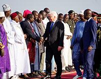 Bundespräsident Steinmeier besucht Gambia 2017