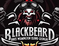 Blackbeard bikes Logo branding
