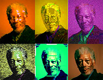 Andy Warhol Photoshop Project