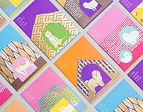 how do dogs see the world? - red packets design