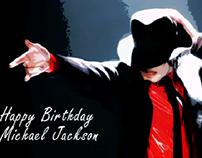 Happy birthday Michael Jackson MJ