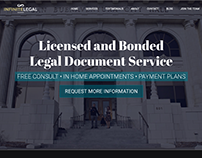 Infinite Legal | Web Design Project