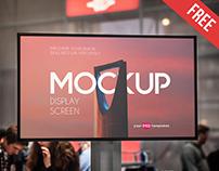Free Display Screen Mock-up in PSD