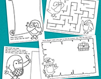 Activities Sheets & Colouring Pages