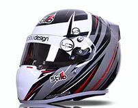Josh Stanton Stilo 2015 Karting Helmet